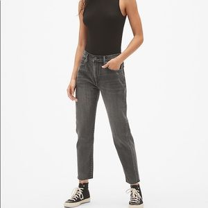 GAP best girlfriend black denim